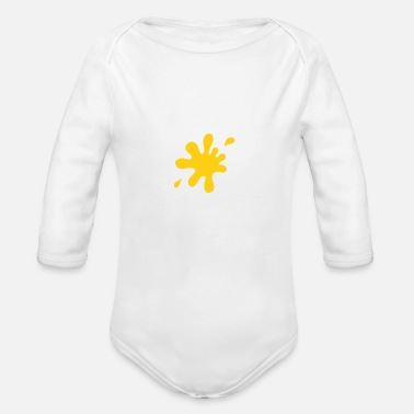 New Father Funny New Father - Organic Long-Sleeved Baby Bodysuit