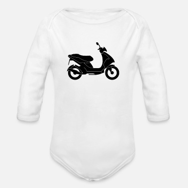 Scooter Scooters / Scooter - Organic Long-Sleeved Baby Bodysuit