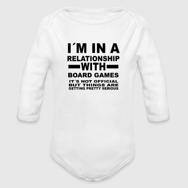 Game relationship with BOARD GAMES - Organic Longsleeve Baby Bodysuit