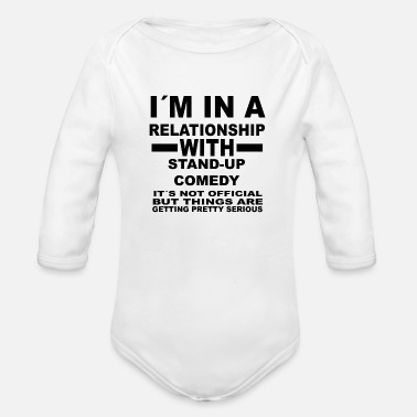 Stand Up Comedy relationship with STAND UP COMEDY - Organic Long-Sleeved Baby Bodysuit