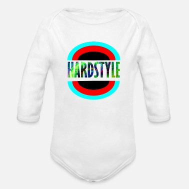 Child hardstyle 123 - Organic Long-Sleeved Baby Bodysuit