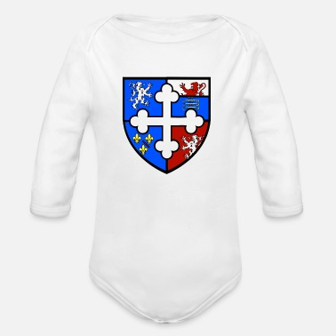 Orthodox cross orthodox - Organic Long-Sleeved Baby Bodysuit
