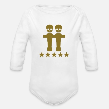 Kicker kicker - Organic Long-Sleeved Baby Bodysuit