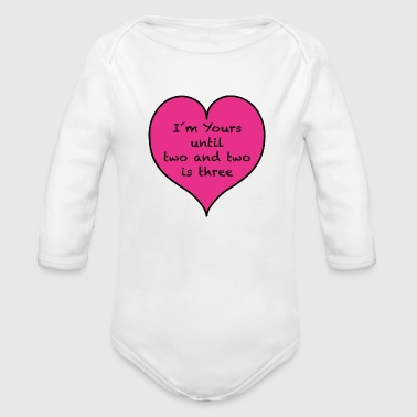 Two two and two - Organic Longsleeve Baby Bodysuit
