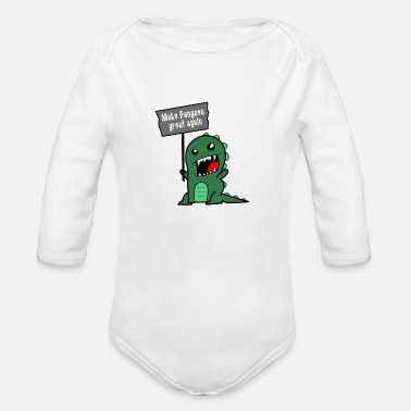 Make Pangaea great again - Baby Bio Langarmbody