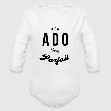 tenåring / teenager / teen / barn - Økologisk langermet baby-body