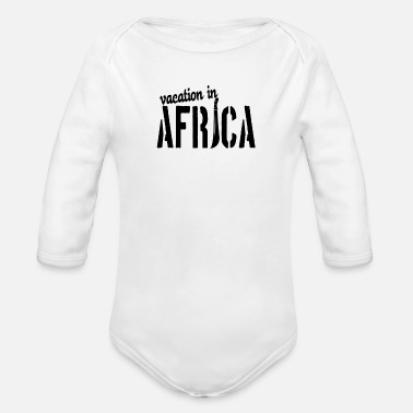 Vacation vacation - Organic Long-Sleeved Baby Bodysuit