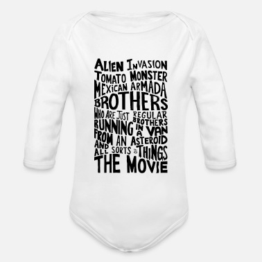 Movie Quote Movie Quote Rick_And_Morty - Organic Longsleeve Baby Bodysuit
