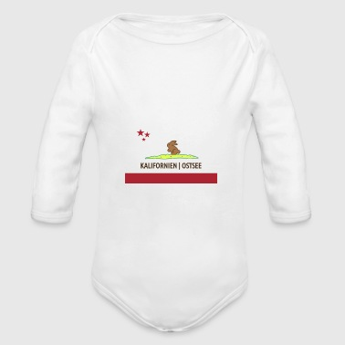 California Baltic Sea Kids - Organic Longsleeve Baby Bodysuit