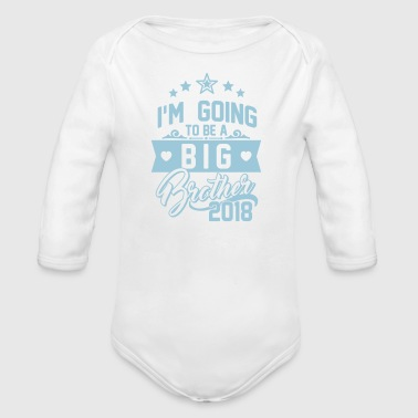 I'm going to be a big Brother 2018-Schwangerschaft - Baby Bio-Langarm-Body