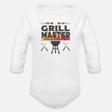 Bbq Master Grill BBQ Grappig ontwerp - Grill Master - Rompertje met lange mouwen