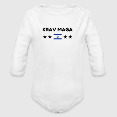 Krav Maga / Krav-Maga / Fight / Martial Art - Baby Bio-Langarm-Body