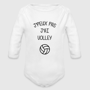 Volley Volleyball / Volleyeur / Volley / Volley-ball - Body bébé bio manches longues