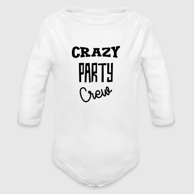Crazy Party Crew - Alcohol - Alcool - Beer - Bière - Baby Bio-Langarm-Body