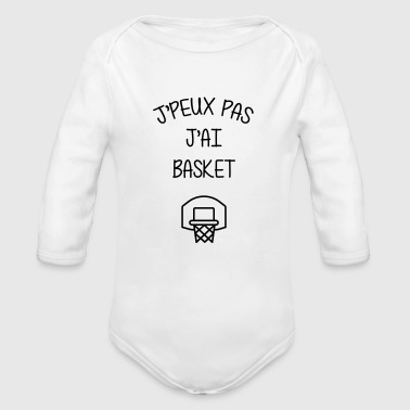 Basket / Basketball / Basket-ball / Basket ball - Body bébé bio manches longues
