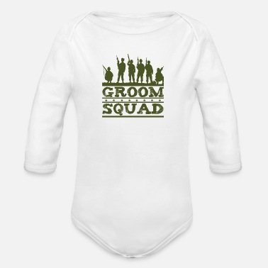 Stall Stall command - Organic Long-Sleeved Baby Bodysuit