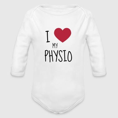 Physiotherapy Physio Krankengymnast Kiné Doctor - Organic Longsleeve Baby Bodysuit