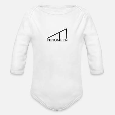 Phenomenon Phenomenon - Organic Long-Sleeved Baby Bodysuit