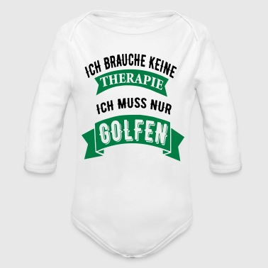 Therapie Golf - Baby Bio-Langarm-Body