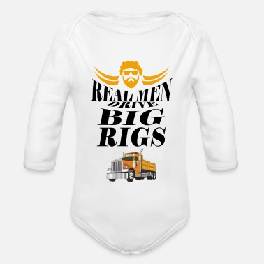 Convoi Real man drive big Rigs - Baby Bio Langarmbody