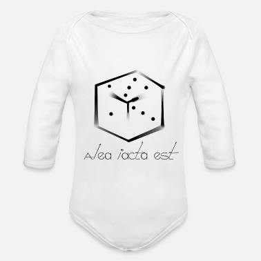 Casting The die is cast - Organic Long-Sleeved Baby Bodysuit