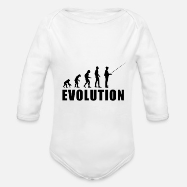 Fischer Hook EVOLUTION FISCHER - Organic Long-Sleeved Baby Bodysuit