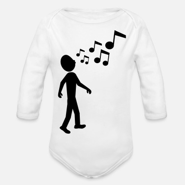 Whistle whistle - Organic Long-Sleeved Baby Bodysuit