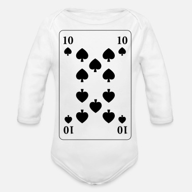 Pik Pik 10 - Pik Ten - Organic Long-Sleeved Baby Bodysuit