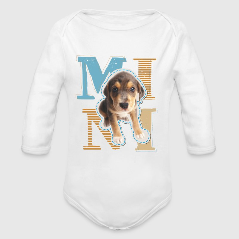 Animal Planet Hund Kinder T-Shirt - Baby Bio-Langarm-Body