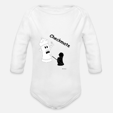 Checkmate Checkmate / checkmate - Organic Long-Sleeved Baby Bodysuit