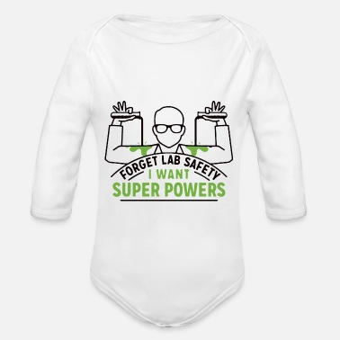 Laboratory laboratory - Organic Long-Sleeved Baby Bodysuit