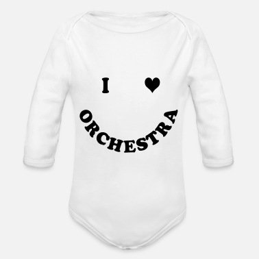 Orchestra orchestra - Organic Long-Sleeved Baby Bodysuit