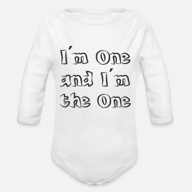One in one - Organic Long-Sleeved Baby Bodysuit