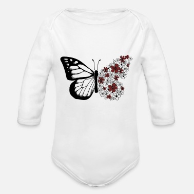 Monarch Monarch - Organic Long-Sleeved Baby Bodysuit