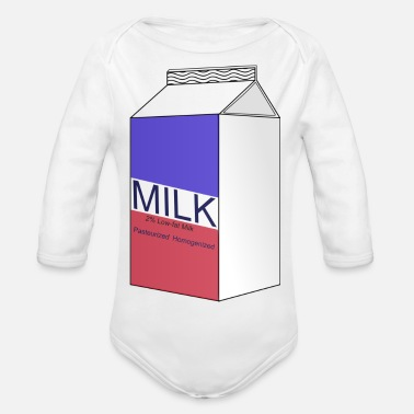 Milch Milch - Baby Bio Langarmbody