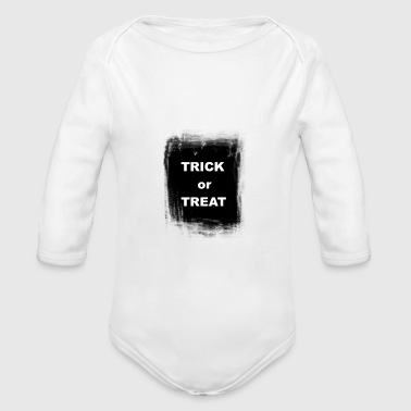 Halloween Trick or Treat - Baby Bio-Langarm-Body