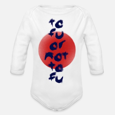 Tofu or Not Tofu - Organic Long-Sleeved Baby Bodysuit