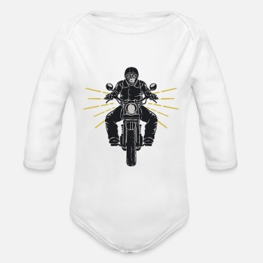 Motorcycle Club Motorcycle Chopper Motorcycle Club Biker - Body de manga larga bebé