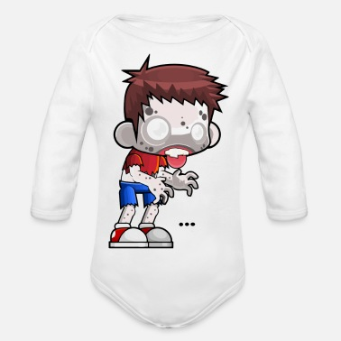 Teenager Zombie Teenage Limited Edition! - Body bébé bio manches longues