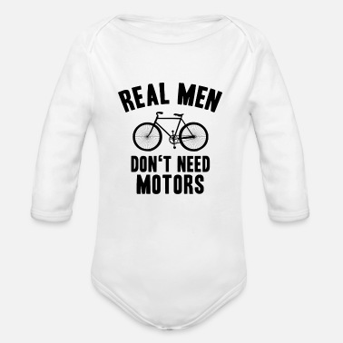 Virility propelled - Organic Long-Sleeved Baby Bodysuit
