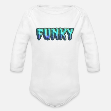 Funky Funky für alle - Baby Bio Langarmbody