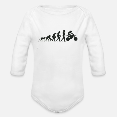 Mofa Evolution Motocross - Baby Bio-Langarm-Body
