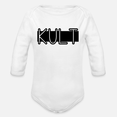 Cult This is a cult gift idea - Organic Long-Sleeved Baby Bodysuit