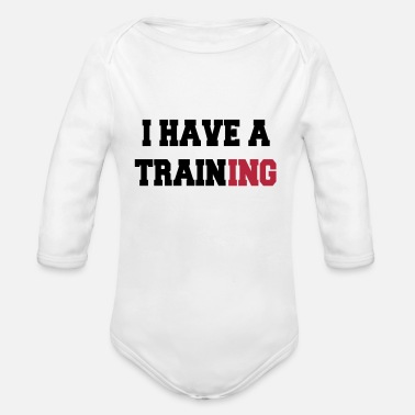 Training I have a training - Body ecologico per neonato a manica lunga