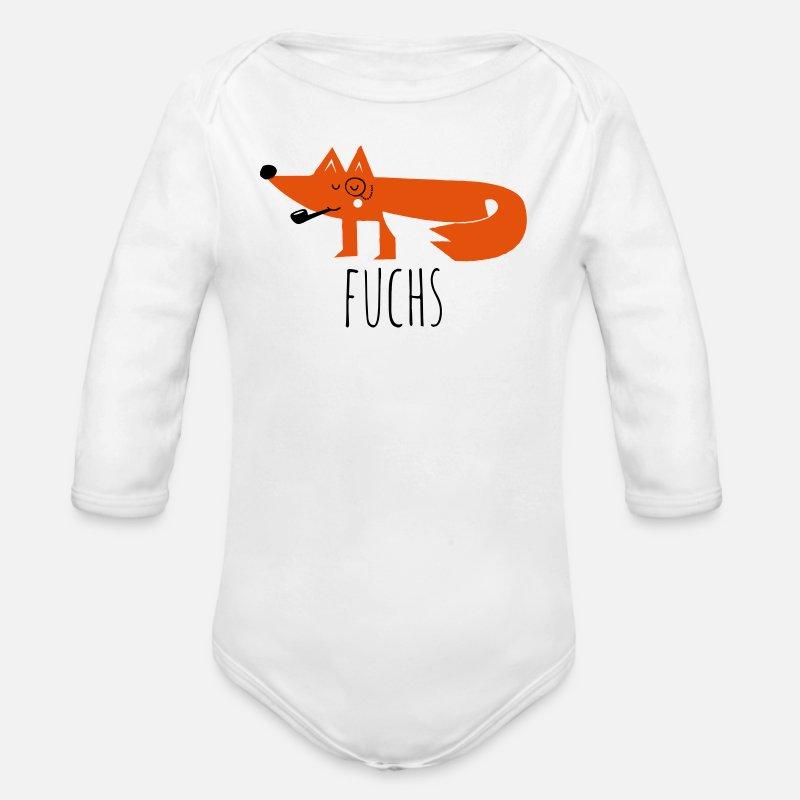Lustige coole moderne fuchs fox sprüche t shirts Baby Bio