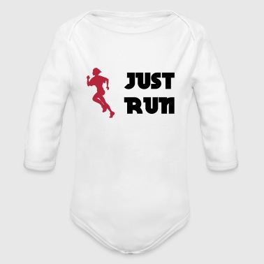 Just run - Baby Bio-Langarm-Body