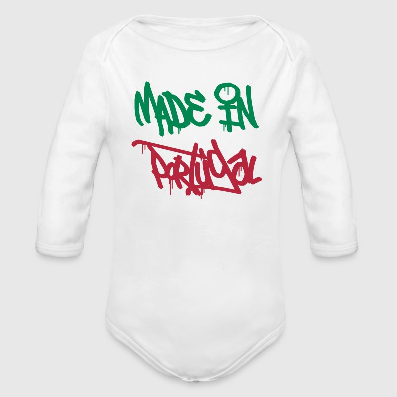 Made in Portugal Hoodies - Organic Longsleeve Baby Bodysuit
