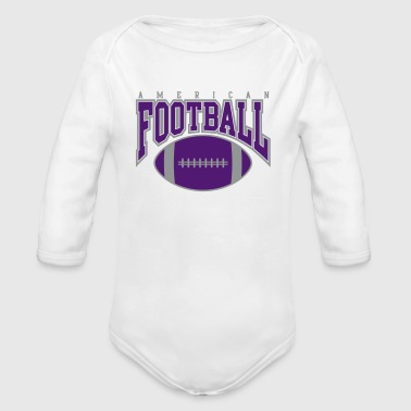american football - rugby - Baby Bio-Langarm-Body