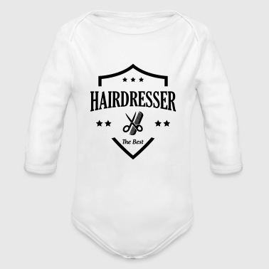 Hairdressing / Hairdresser / Hairstyle / Haircut - Organic Longsleeve Baby Bodysuit