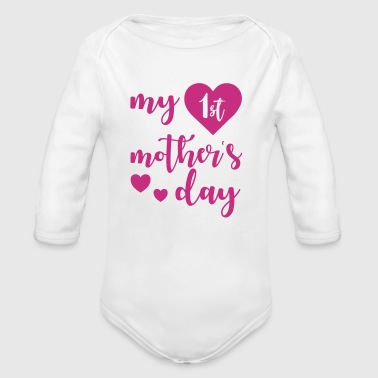 1st Mothers day - Baby Bio-Langarm-Body